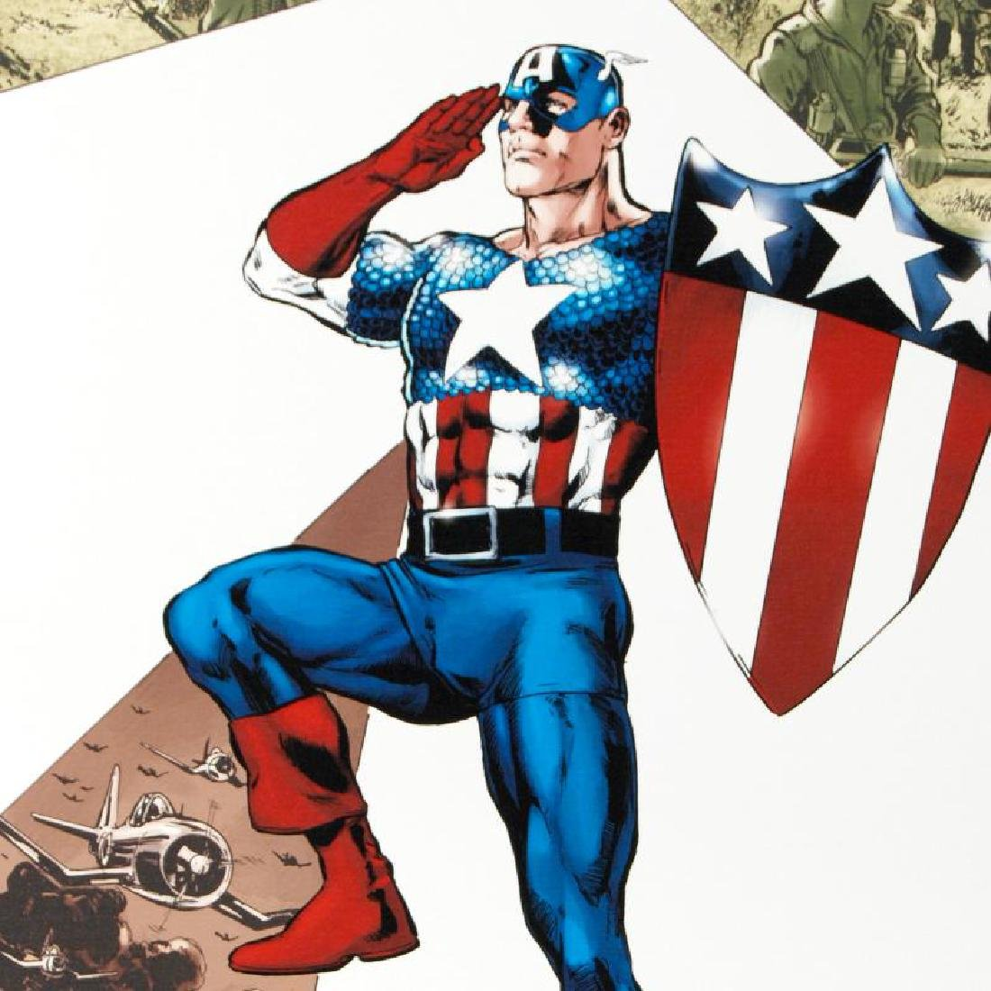 Captain America Corps #2 by Marvel Comics - 2