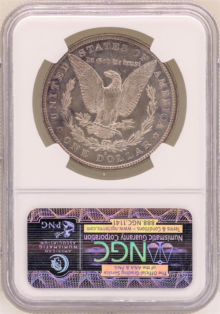 1879-S $1 Morgan Silver Dollar Coin NGC MS66 - 2