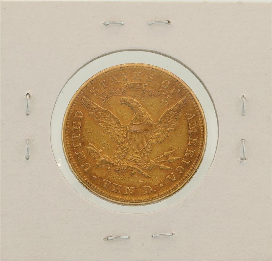 1897 $10 Liberty Head Eagle Gold Coin - 2