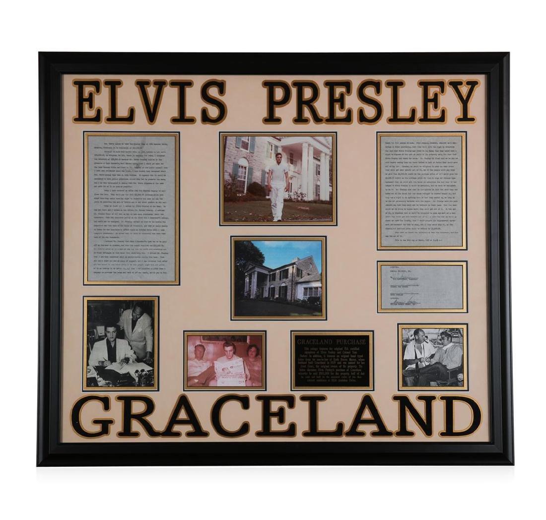 Elvis Presley Graceland Collage