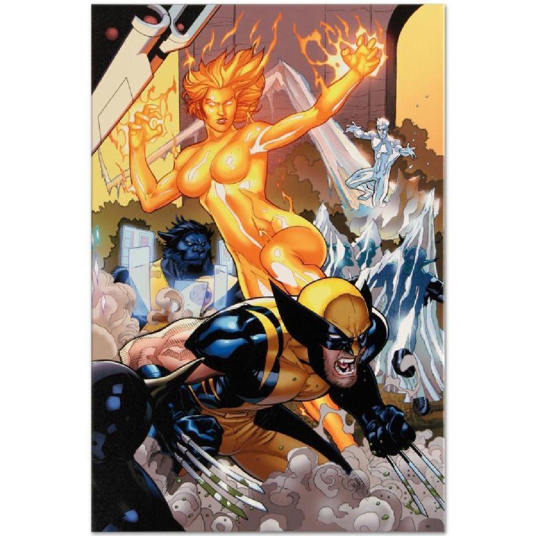 Secret Invasion: X-Men #4 by Marvel Comics