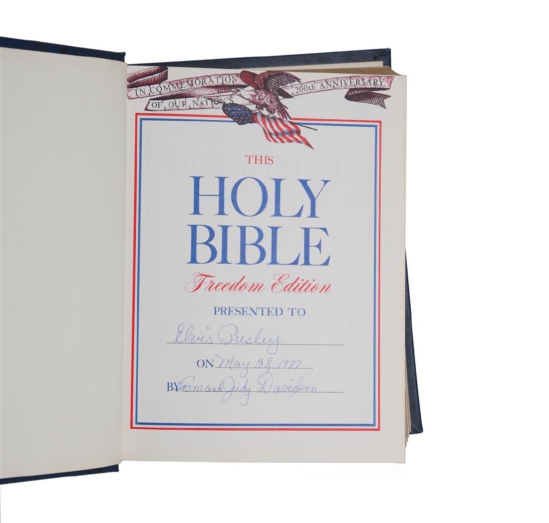 Elvis Holy Bible - 2