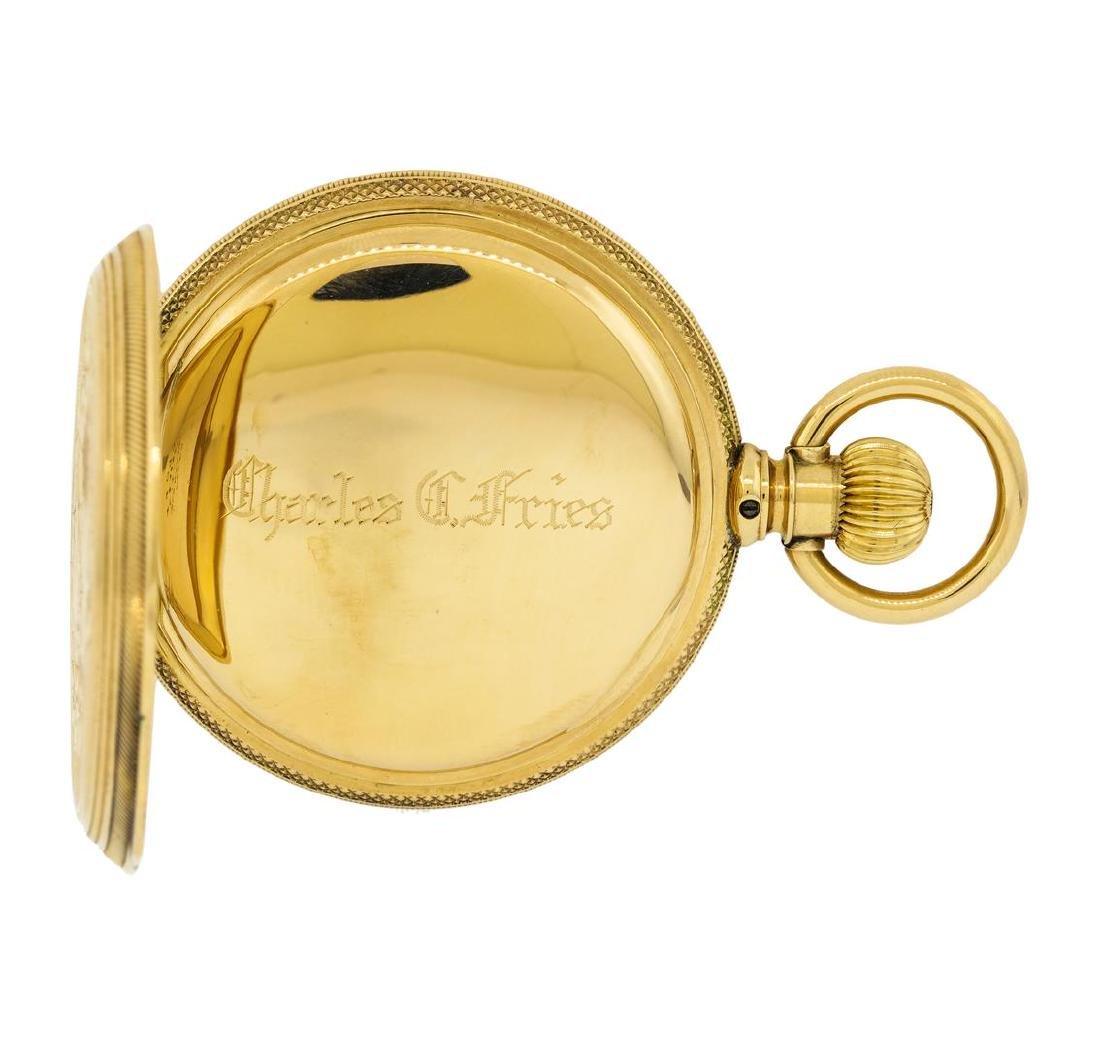 Vintage Elgin Pocket Watch - 14KT Yellow Gold - 4