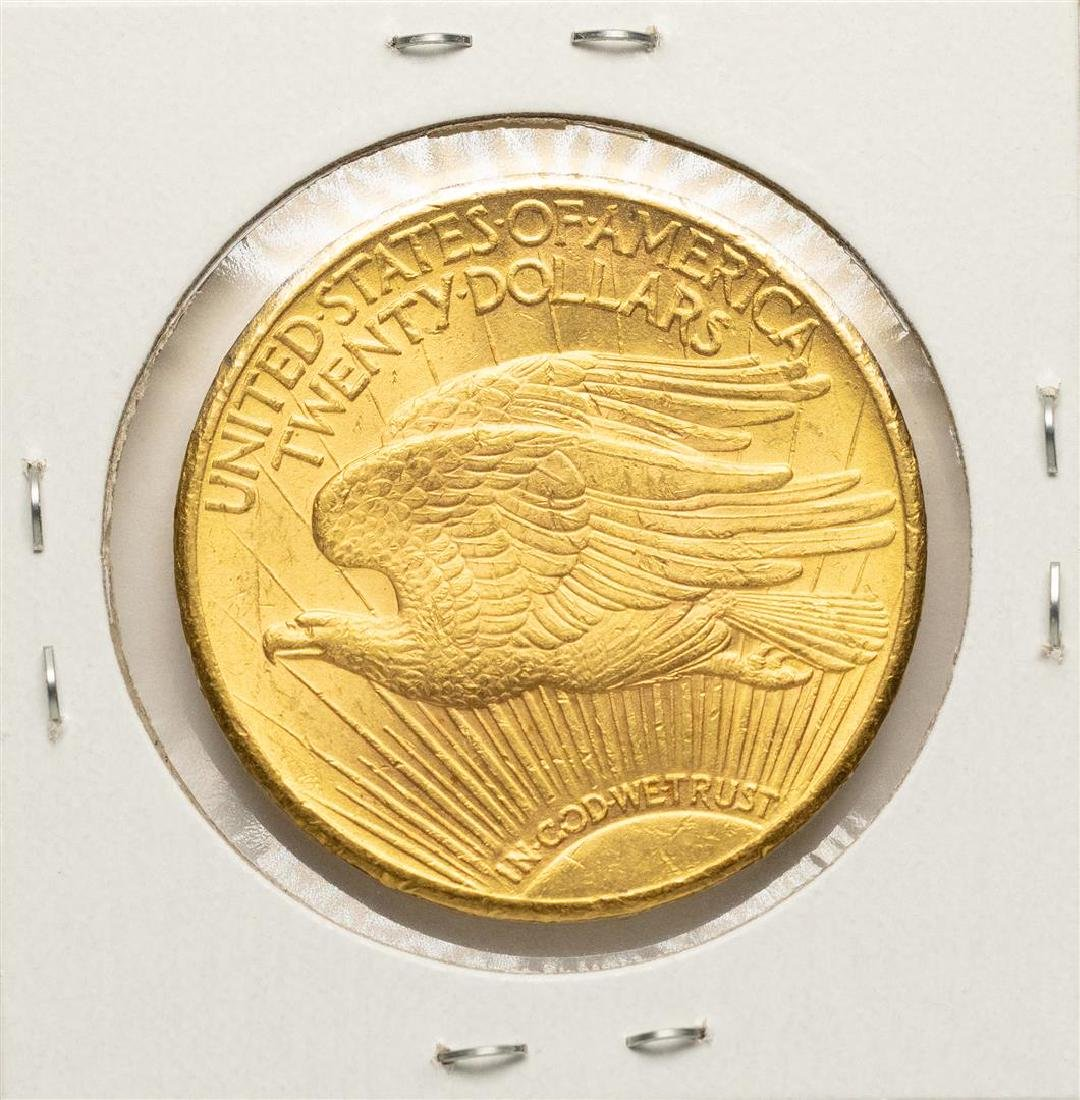 1924 $20 St. Gaudens Double Eagle Gold Coin - 2