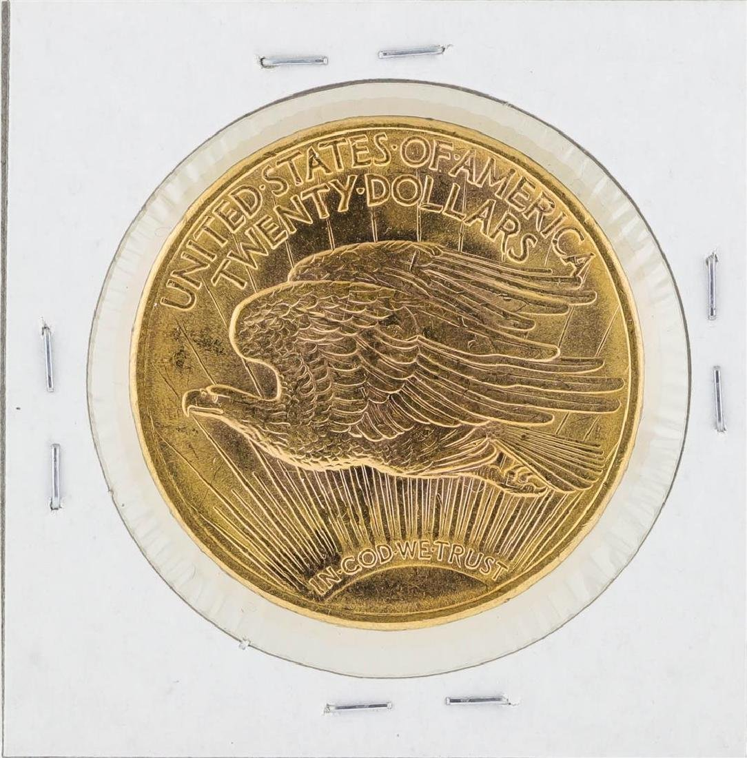 1923-D $20 St. Gaudens Double Eagle Gold Coin - 2