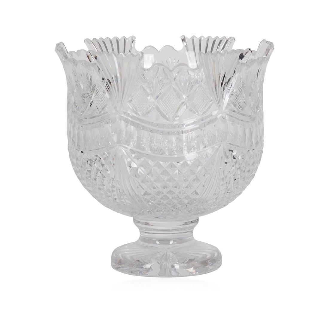 Waterford Connolly Pallas Crystal Punch Bowl - 2