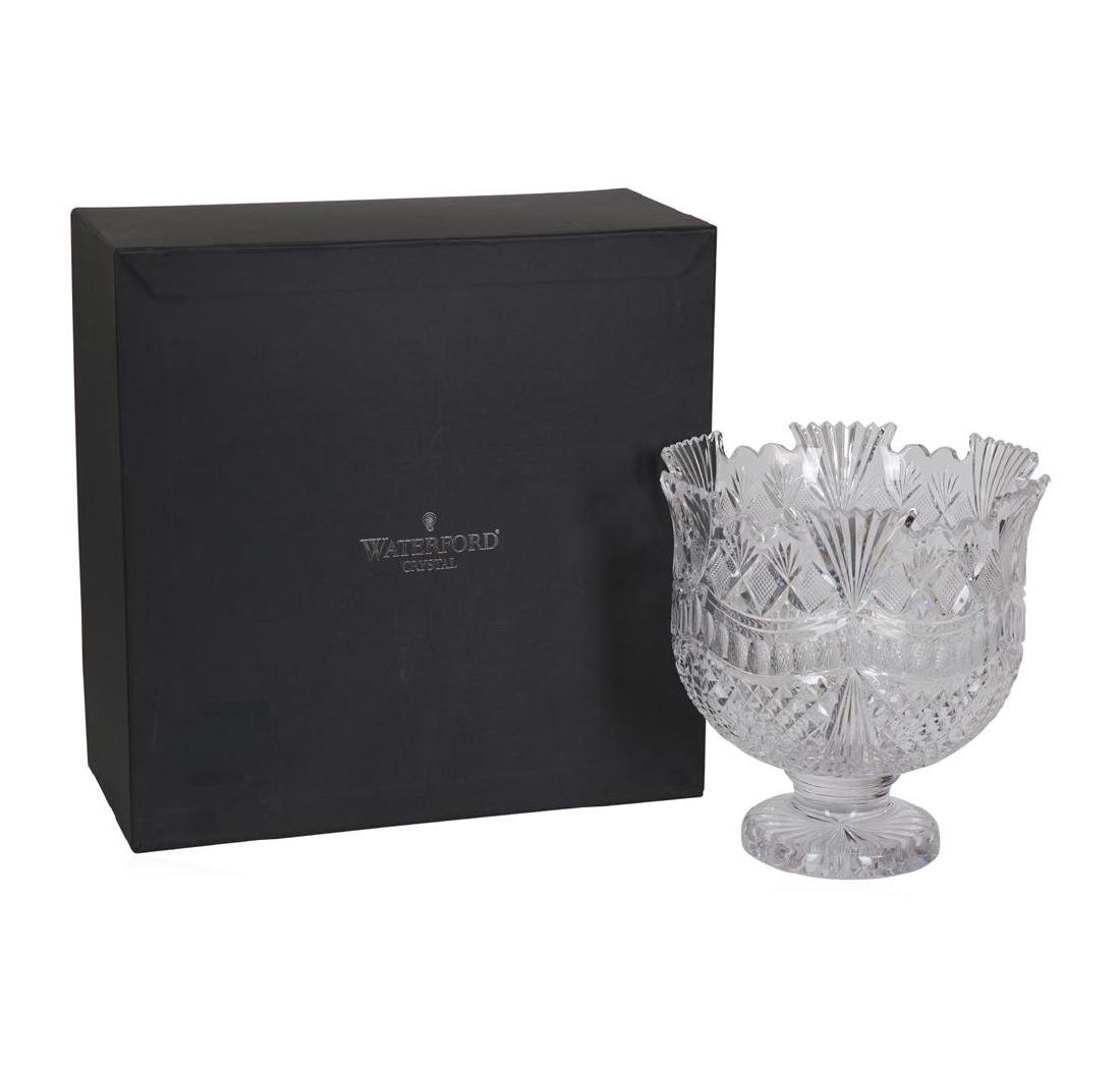 Waterford Connolly Pallas Crystal Punch Bowl - 3