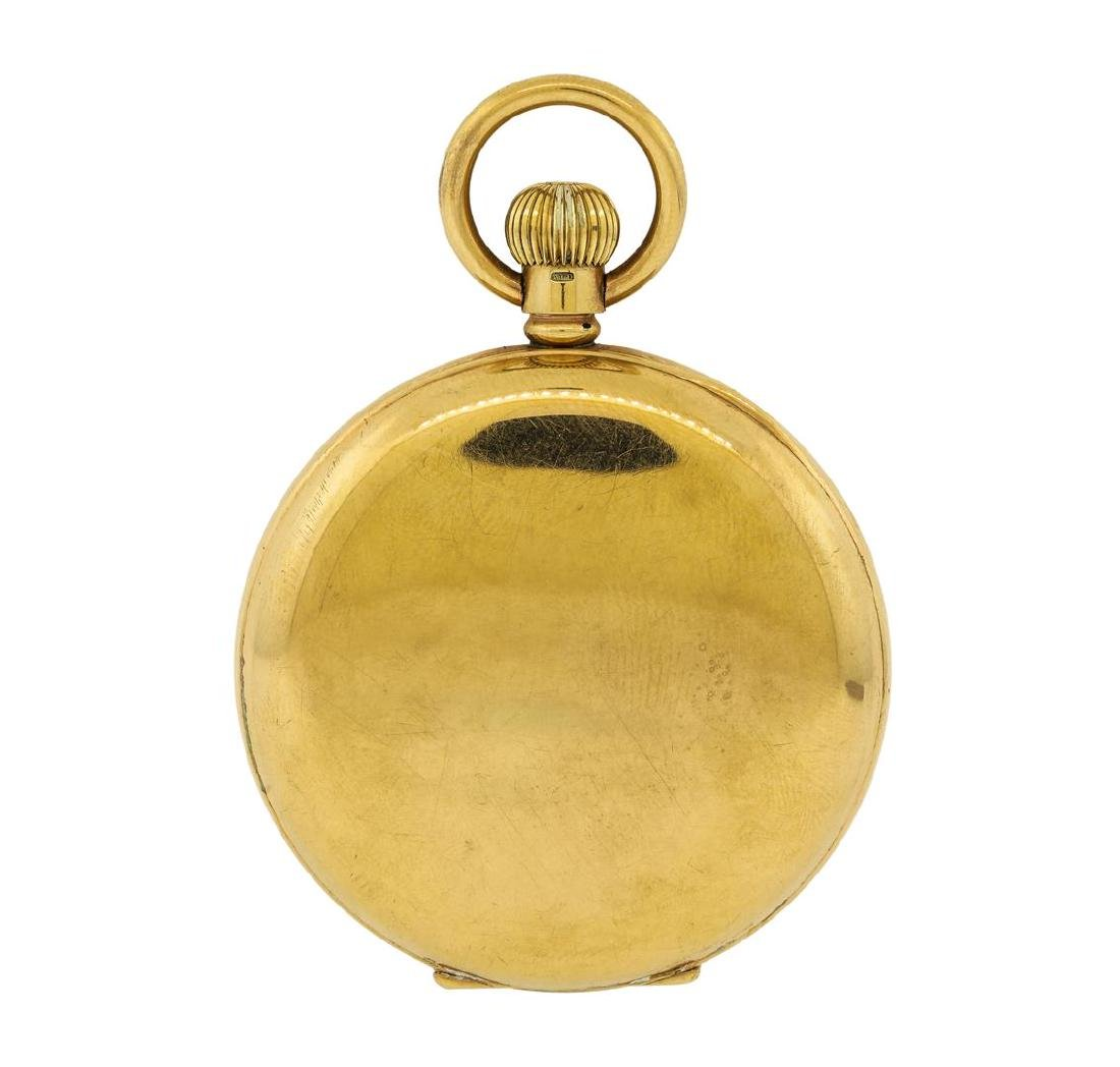 Antique Pocket Watch - 14KT Yellow Gold - 2