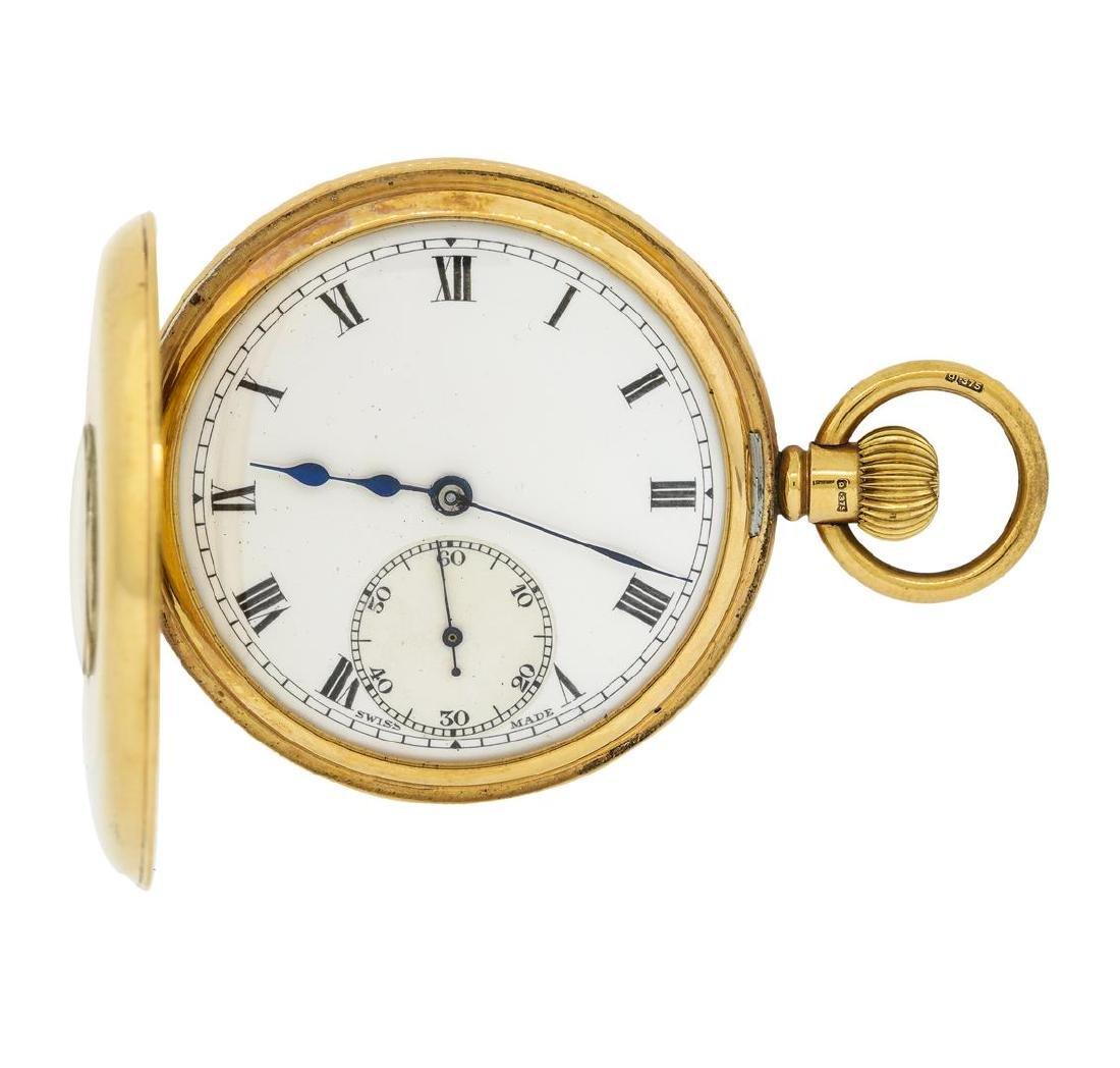 Antique Pocket Watch - 14KT Yellow Gold - 3