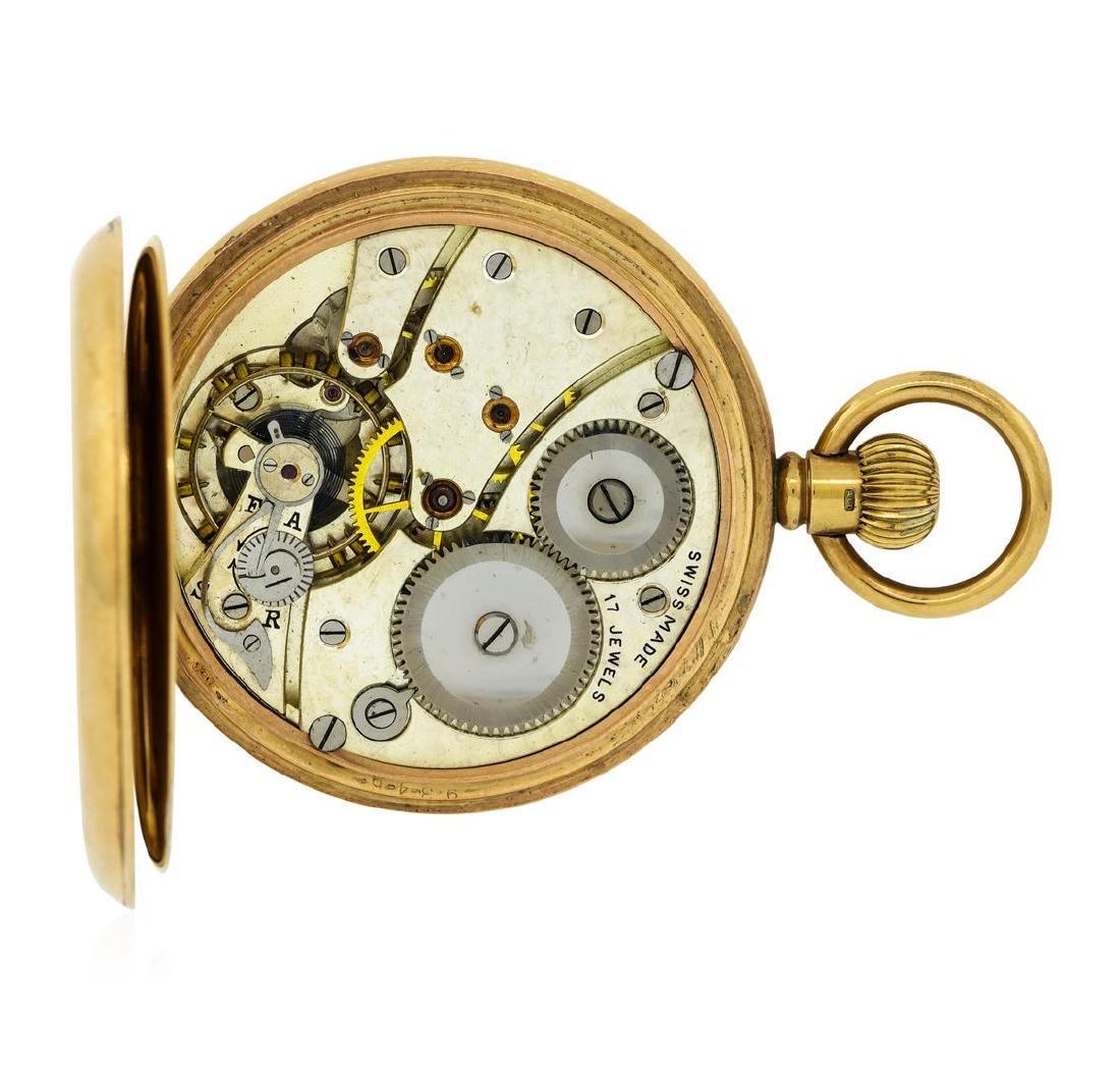 Antique Pocket Watch - 14KT Yellow Gold - 5