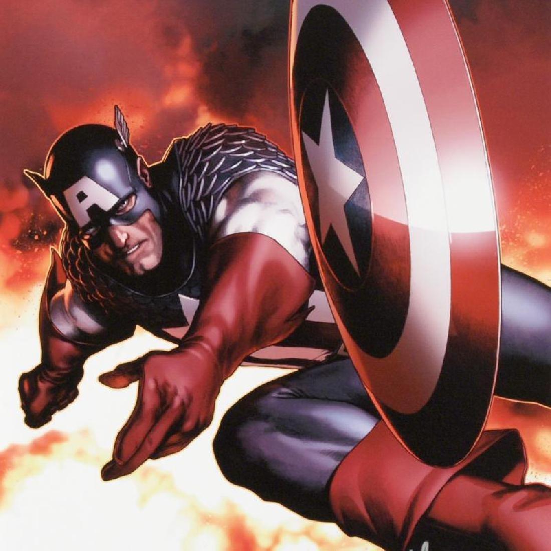 Captain America #2 by Stan Lee - Marvel Comics - 2