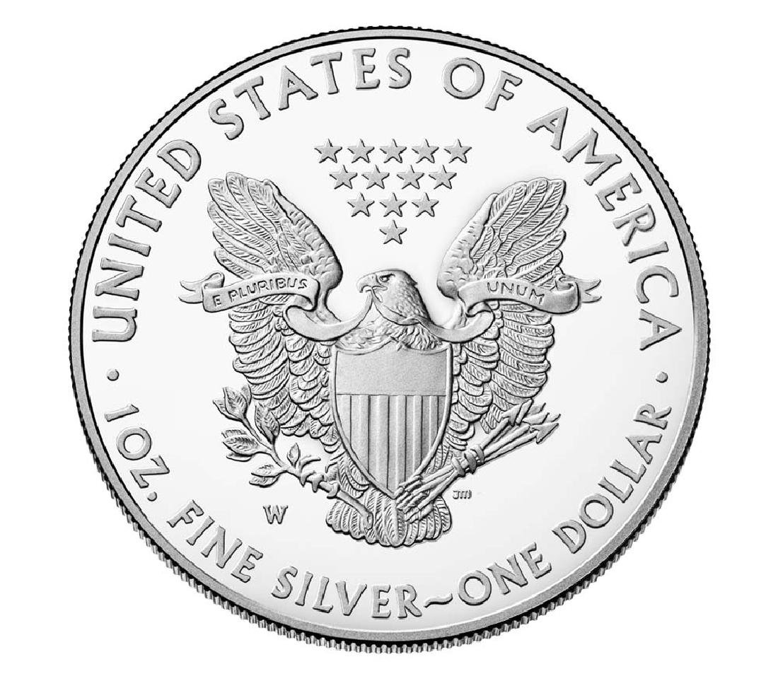2017 American Silver Eagle Dollar Coin - 2