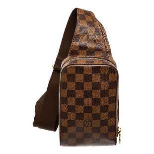 683ece0dc339 Louis Vuitton Damier Ebene Geronimos Crossbody Bag