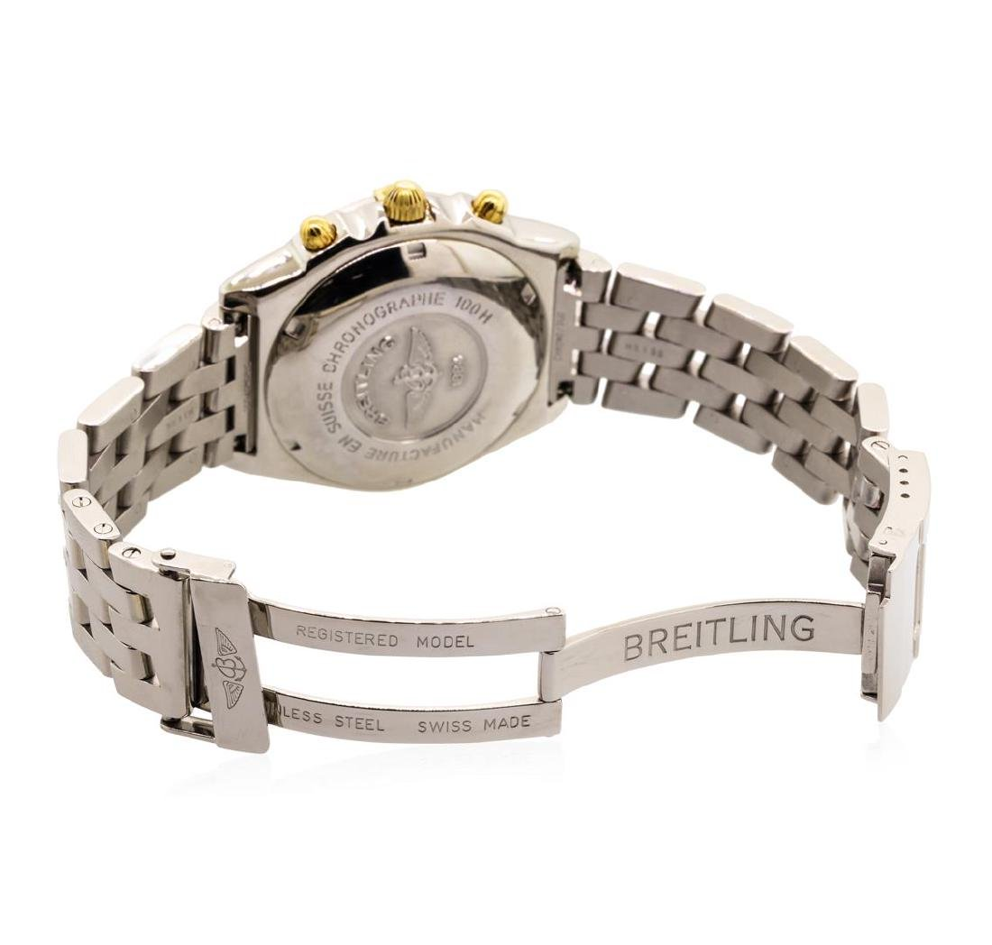 Breitling Men's Chronomat Wristwatch - Stainless Steel - 3