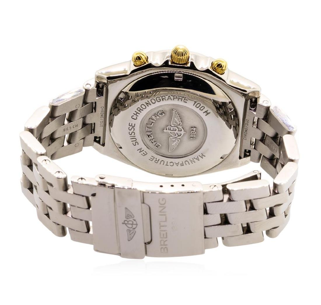 Breitling Men's Chronomat Wristwatch - Stainless Steel - 4