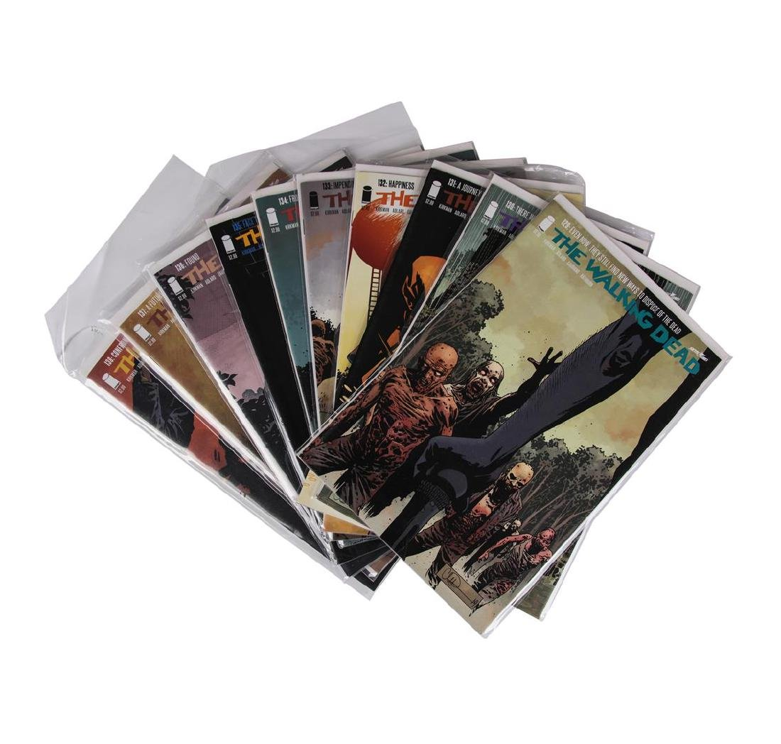 The Walking Dead Comic Book Set, Issues #109-157 - 3