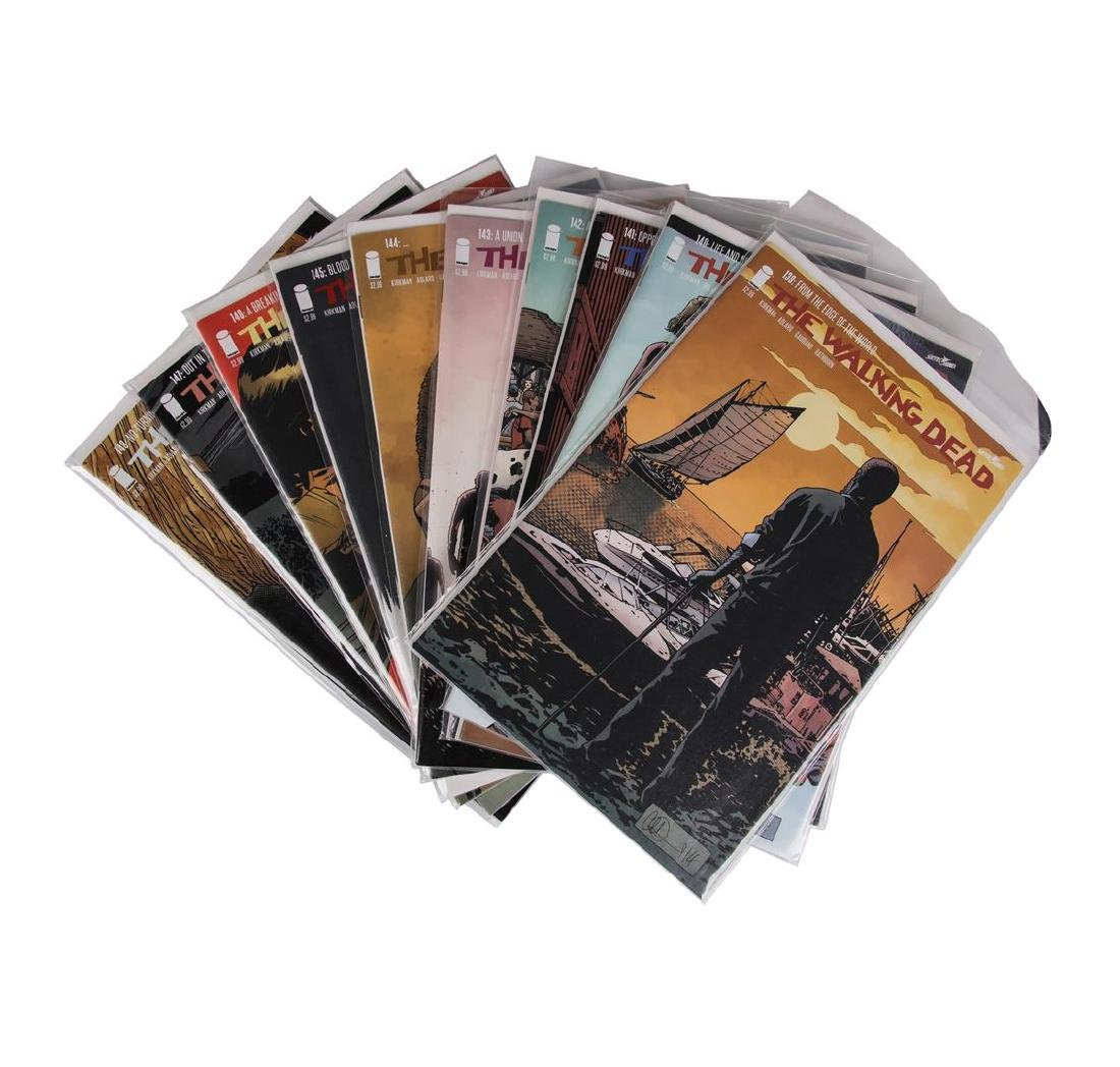 The Walking Dead Comic Book Set, Issues #109-157 - 4