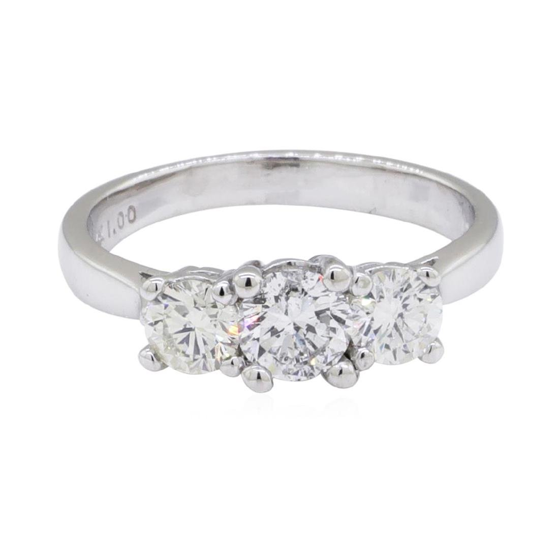 0.45 ctw Diamond Ring - 14KT White Gold - 2