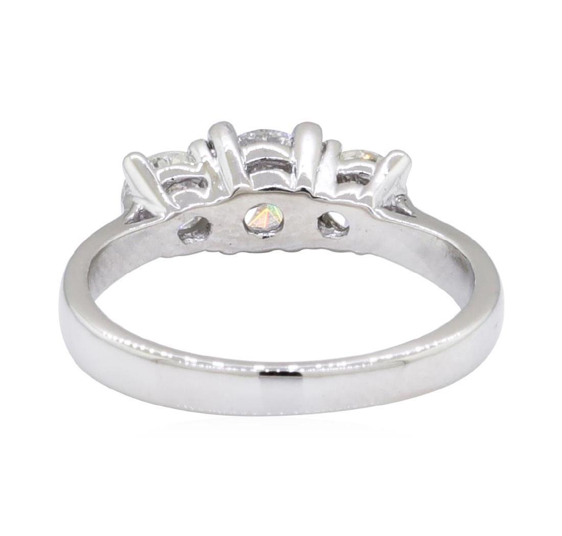 0.45 ctw Diamond Ring - 14KT White Gold - 3