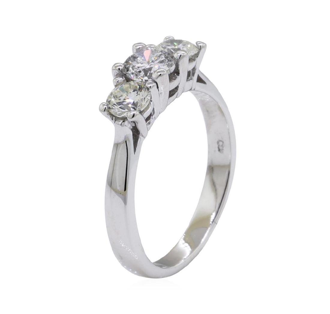 0.45 ctw Diamond Ring - 14KT White Gold - 4