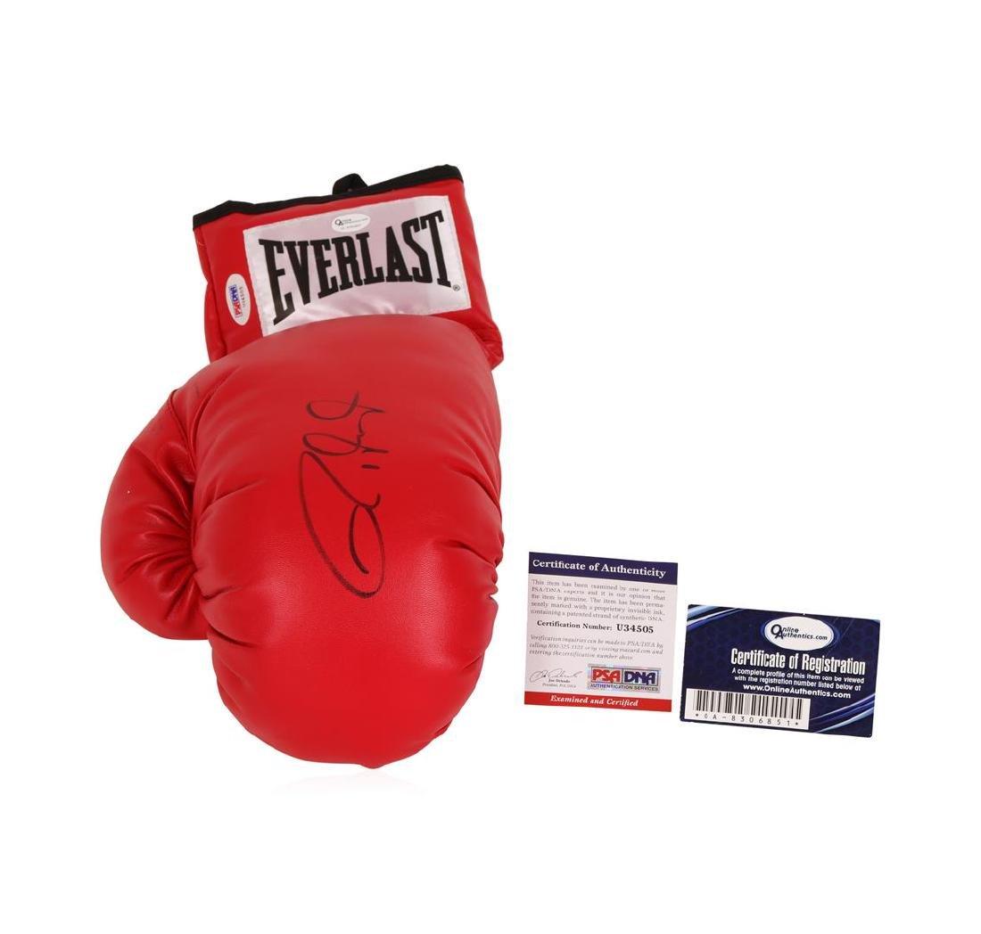 Roy Jones Jr. Autographed Boxing Glove