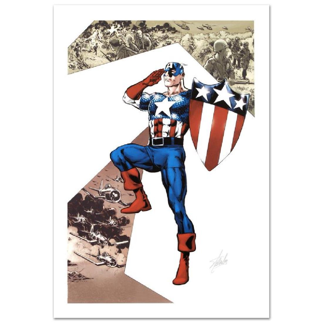 Captain America Corps #2 by Stan Lee - Marvel Comics