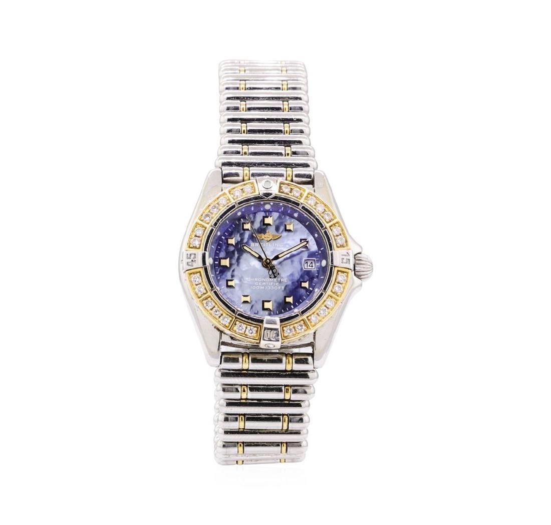 Breitling 0.50 ctw Diamond Callisto Wristwatch -