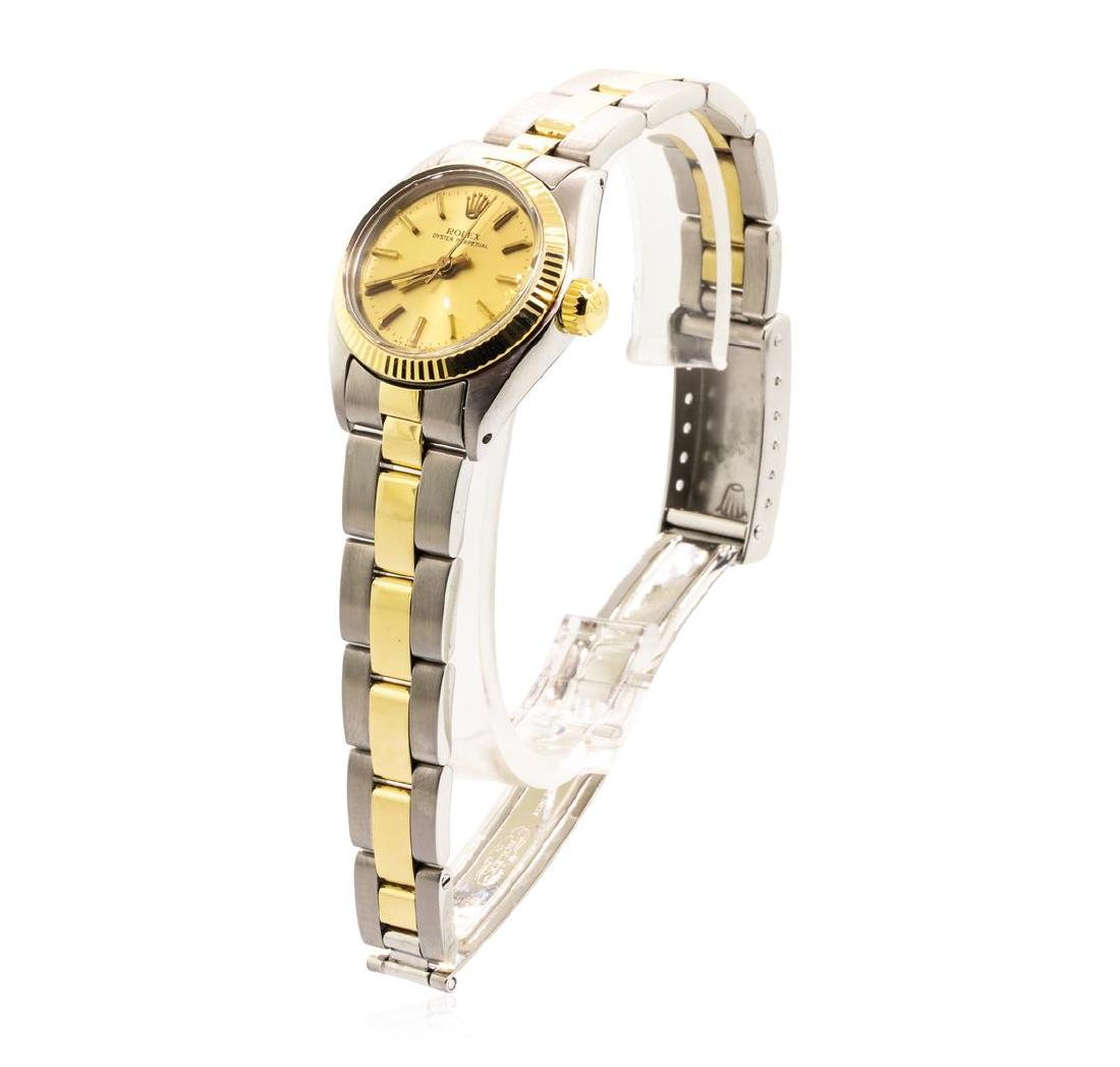 Rolex Lady's Oyster Perpetual Wristwatch - Stainless