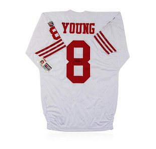 free shipping 39c5d c082e Jerry Rice, signed San Francisco 49ers Custom Jersey - Jan ...