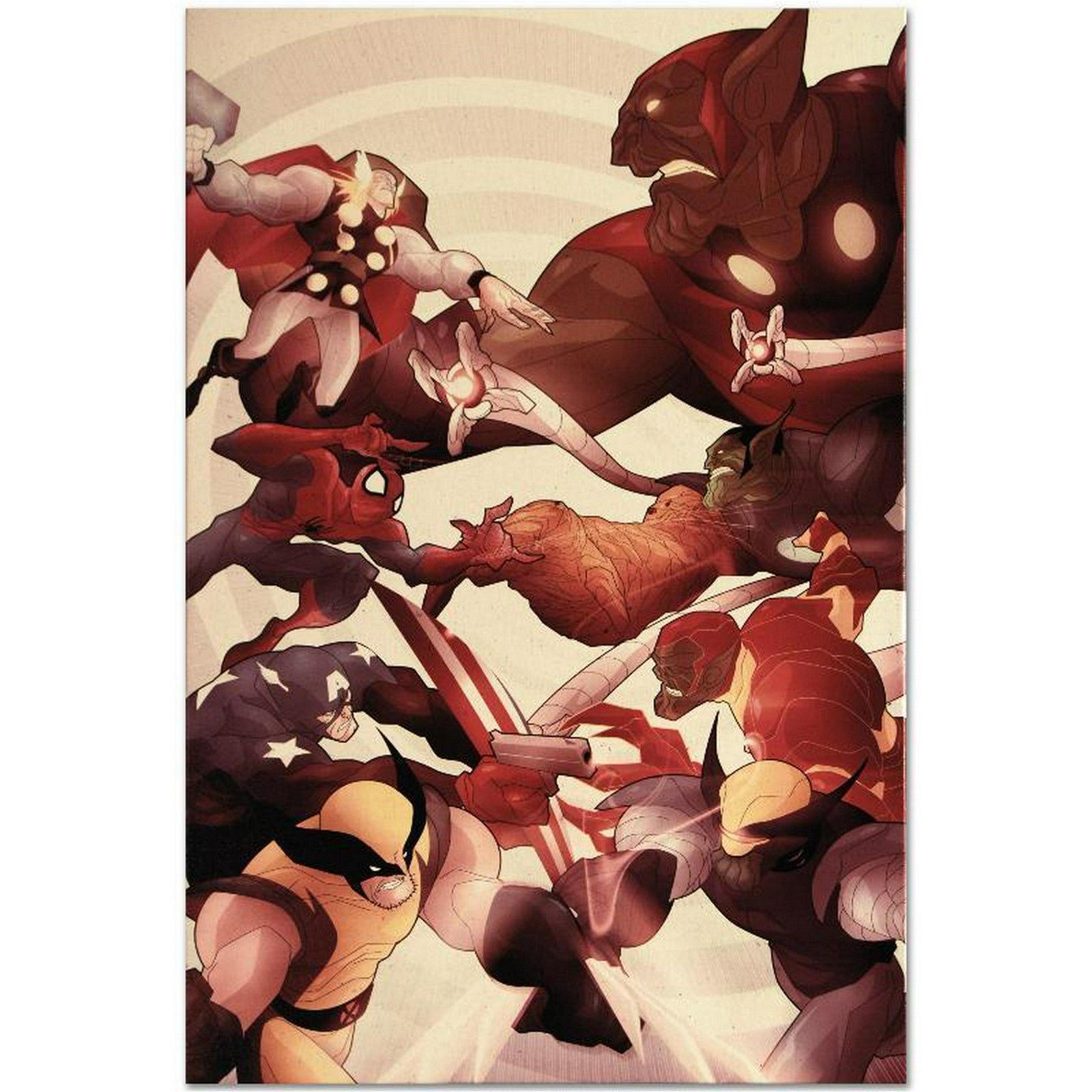 Secret Invasion: Front Line #5 by Marvel Comics