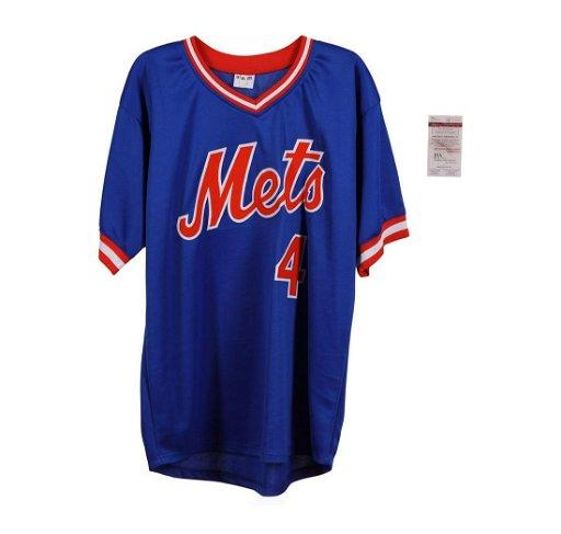 arrives f37e8 399e7 New York Mets Lenny Dykstra Autographed Jersey