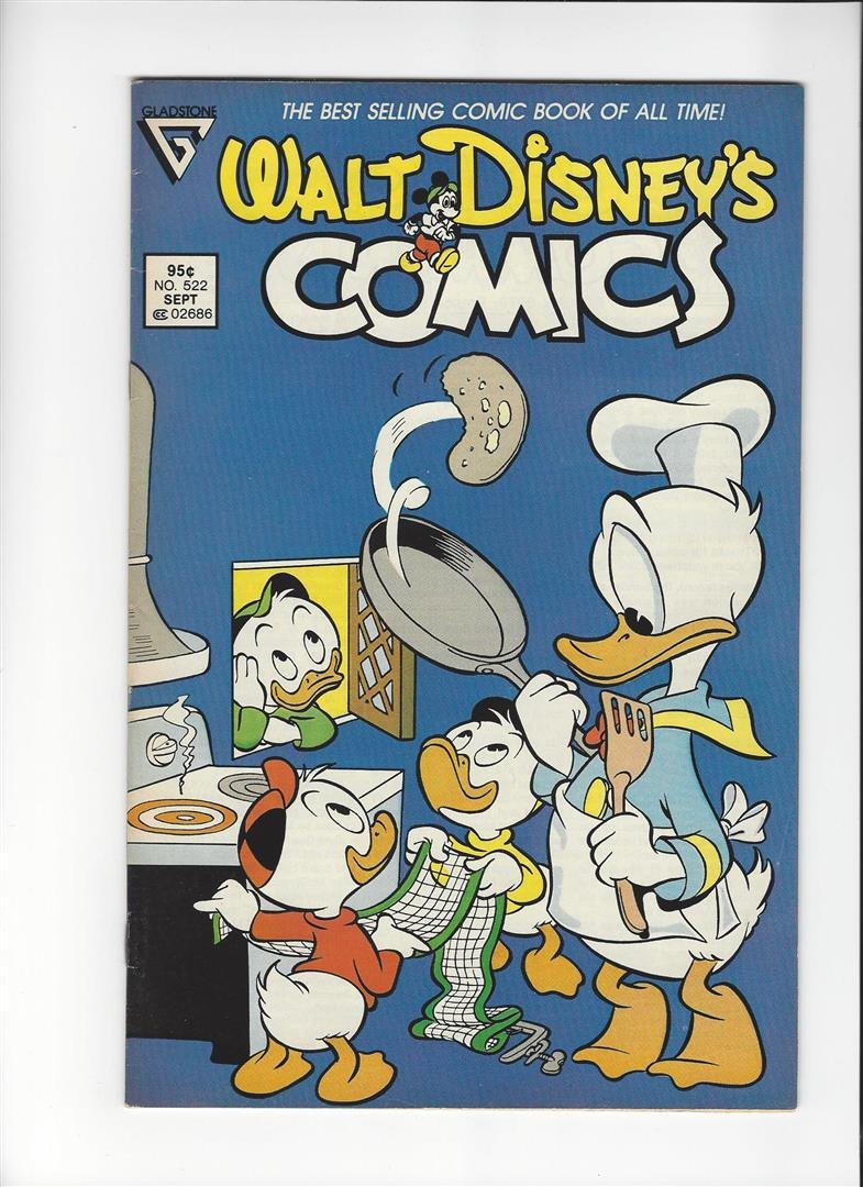 Walt Disneys Comics and Stories Issue #522 by Gladstone