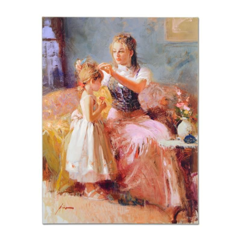 Little Lady by Pino (1939-2010)