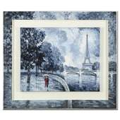 Rainy Day by the Eiffel Tower by Antanenka Original