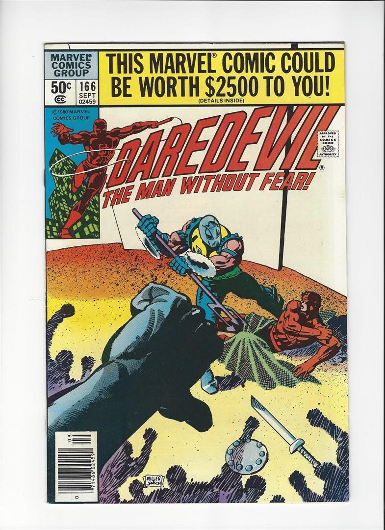 Daredevil The Man Without Fear Issue #166 by Marvel