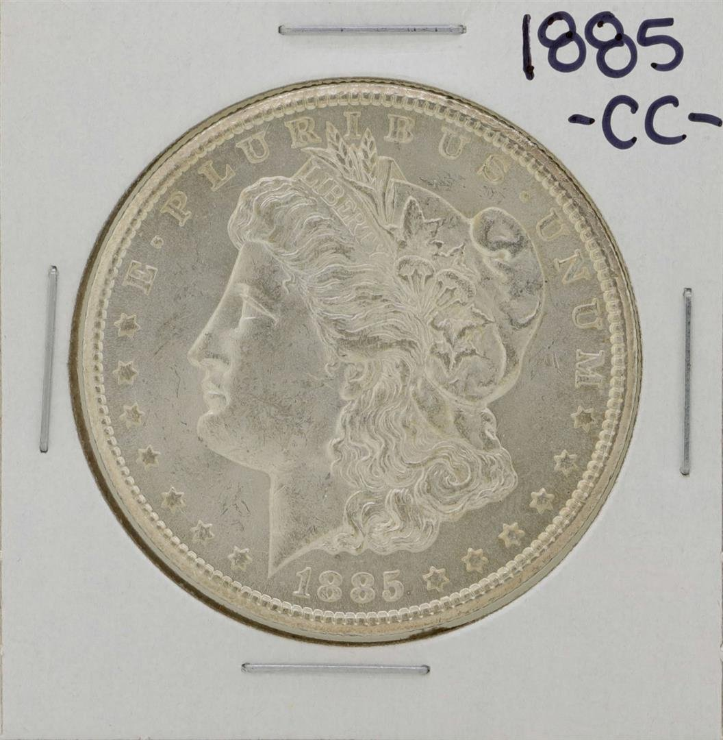 1885-CC $1 Morgan Silver Dollar Coin