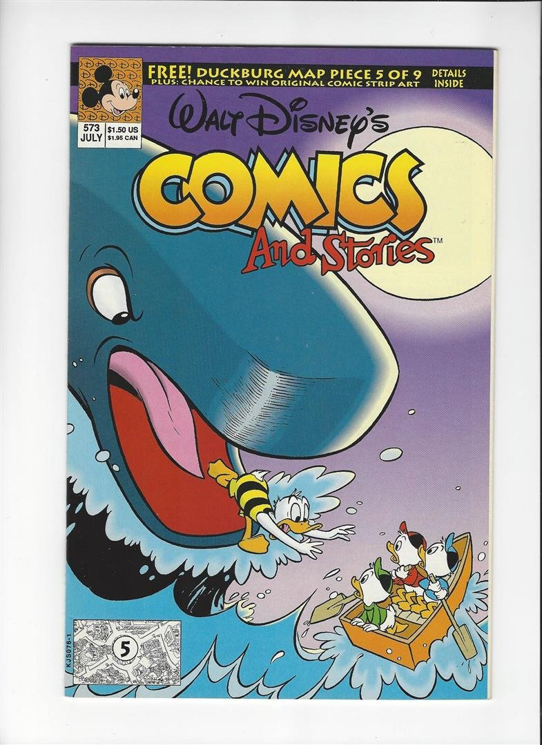 Walt Disneys Comics and Stories Issue #573 by Disney