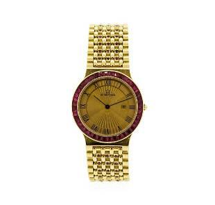 Eterna 18KT Yellow Gold Manual Wristwatch