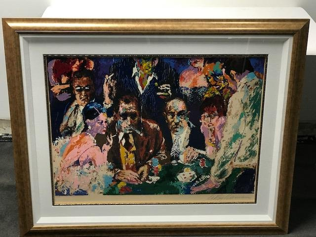 Vegas Blackjack by Leroy Neiman