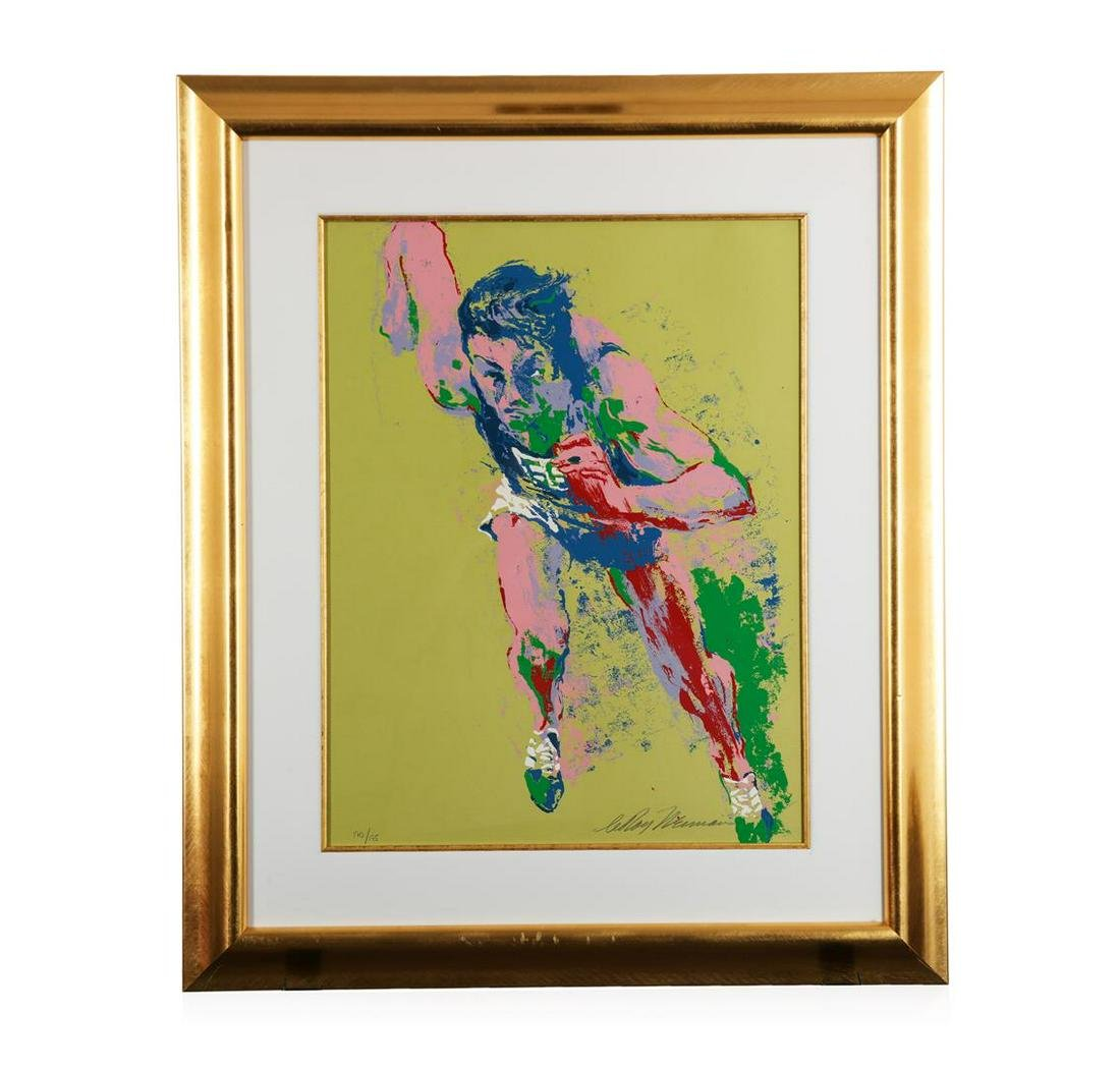 """""""Olympic Runner"""" by LeRoy Neiman - Limited Edition"""