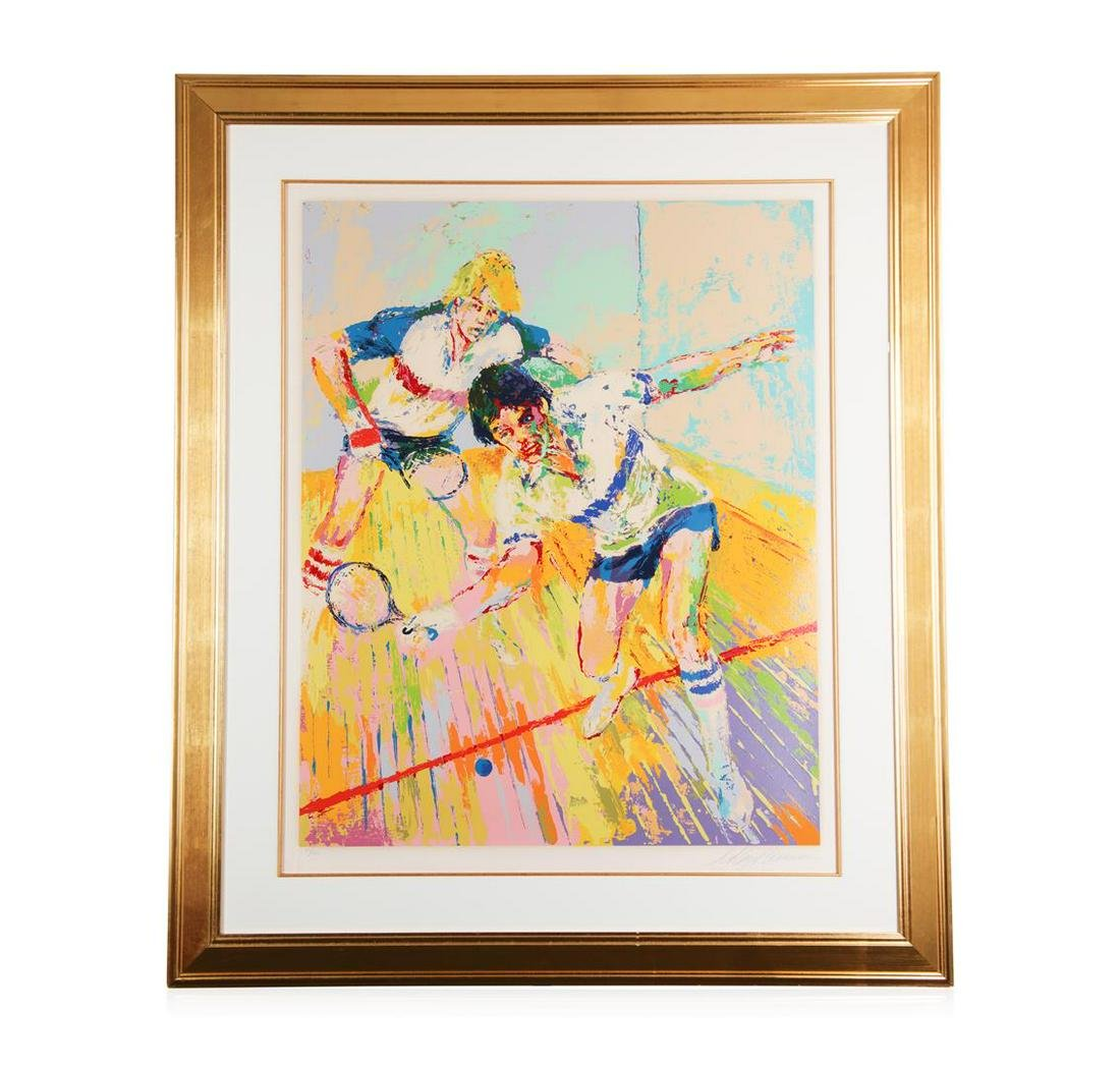 """Racquetball"" by LeRoy Neiman - Limited Edition"