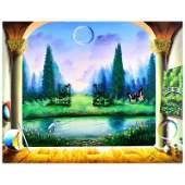 Garden Pond by Ferjo Original
