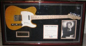 5: Paul McCartney Framed Signed Guitar Collage