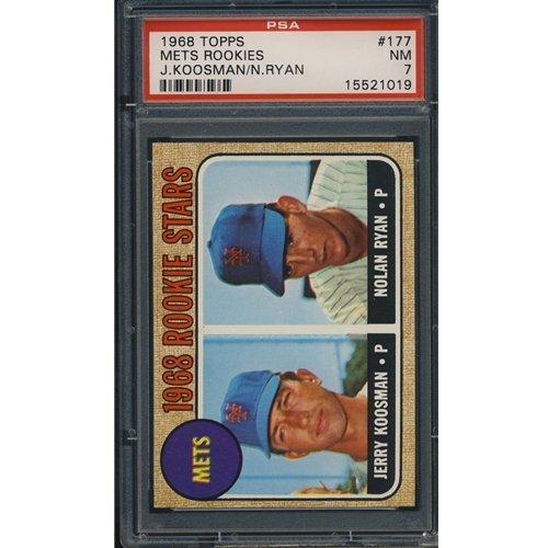 21: 1968 Topps Nolan Ryan Baseball Card PSA 7