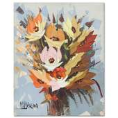 Manuel Munoz Merida (1920-2010), Original Oil Painting