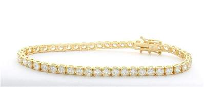 70 ctw Diamond Tennis Bracelet