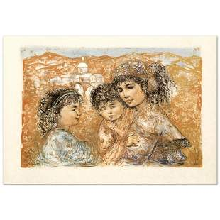 """""""Zalina with Aries and Ande"""" Limited Edition Lithograph"""