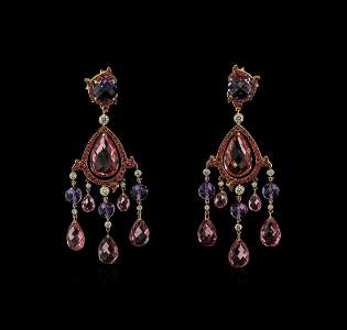 Ralph Lauren 54.06 ctw Multi Gemstone and Diamond