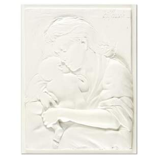 """Bill Mack, """"Caring"""" Limited Edition Monotype Relief"""