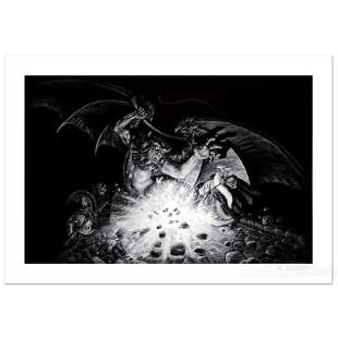 """Gandalf Versus Balrog"" Limited Edition Giclee by Greg"
